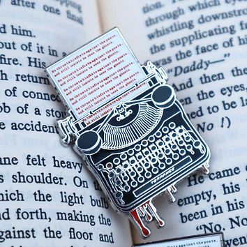 Stephen King Lover Pin