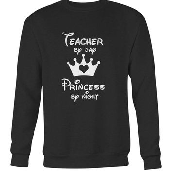 Teacher By Day Princess By Night Long Sweater