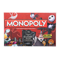Monopoly The Nightmare Before Christmas Board Game Hot Topic Exclusive Pre-Release