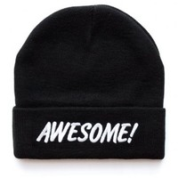 Lazy Oaf   Awesome Knitted Beanie