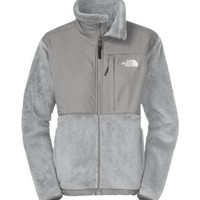 North Face Denali Thermal Jacket Womens (Medium, Metallic Silver)