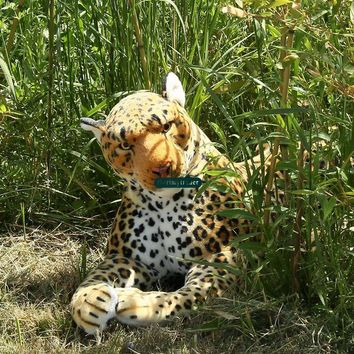 Leopard Realistic Giant Stuffed Animal Plush Toy 51""