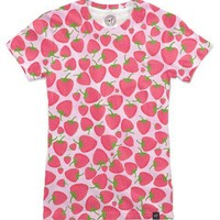 Strawberry Sweet Minis Women's T-Shirts by Lisa Argyropoulos | Nuvango