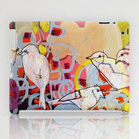 bird song iPad Case by Randi Antonsen | Society6