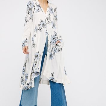 Free People City Walker Midi Dress