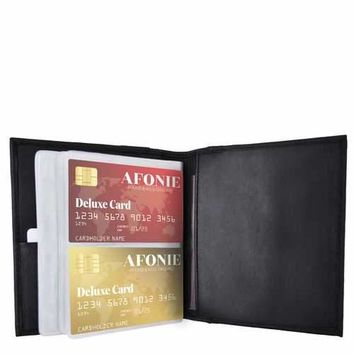 RFID Leather Multi Credit Card Holder