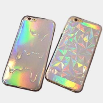 ONETOW Day-First? DIAMOND HOLOGRAM IPHONE CASE