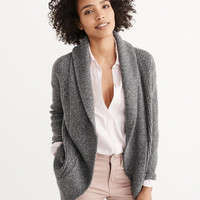 Womens Rib Mix Cardigan | Womens Tops | Abercrombie.ca