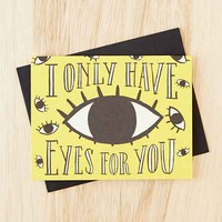 Idlewild Co. Only Have Eyes For You Card- Yellow One