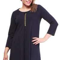Tunic model 37407 Large&LovelyByMoe