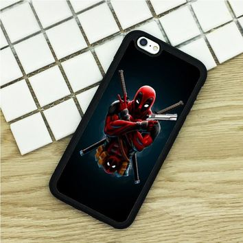 soft TPU Phone Cases For iPhone 6 6S 7 Plus 5 5S 5C SE 4 4S ipod touch 4 5 6 Cover Shell DEADPOOL DC Marvel superhero comic book