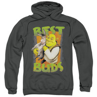 PULL-OVER HOODIE<br>SHREK BUDS<br>ADULT