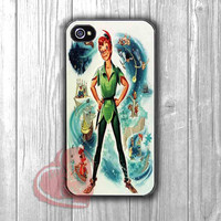 Vintage Poster Peter Pan - zzd for  iPhone 4/4S/5/5S/5C/6/6+s,Samsung S3/S4/S5/S6 Regular/S6 Edge,Samsung Note 3/4