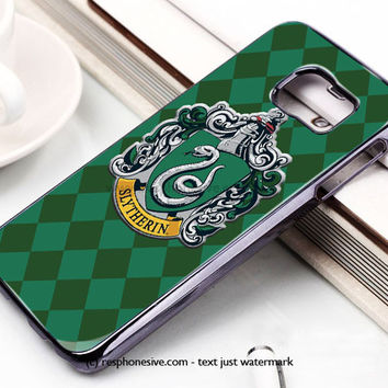 Hoghwart School - Slytherin Samsung Galaxy S6 and S6 Edge Case