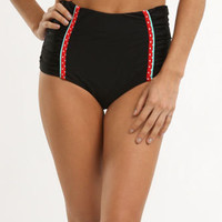 Volcom Diner Dot High Waisted Retro Bottom at PacSun.com