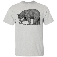 BEAR T-Shirt - Grizzly Bear California State