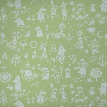 Moomin characters wallpaper by Sandudd