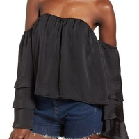 4SI3NNA Ruffle Off the Shoulder Top | Nordstrom