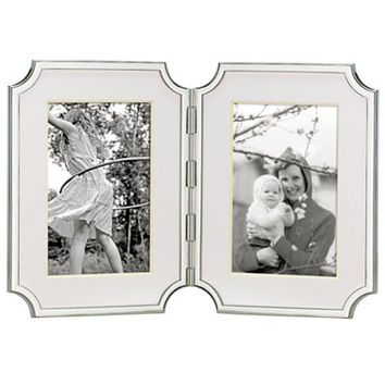 kate spade new york Sullivan Street Hinged Double 4 x 6 Picture Frame - Picture Frames - Macy's