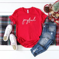 Joyful Christmas Graphic Tee