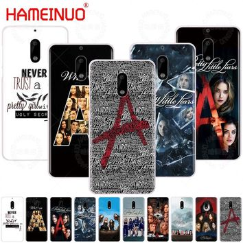 HAMEINUO Pretty Little Liars TV cover phone case for Nokia 9 8 7 6 5 3 Lumia 630 640 640XL 2018