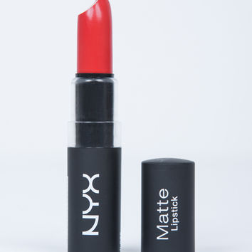 NYX Matte Lipstick - Pure Red