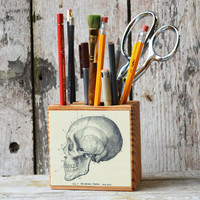 Skull Desk Caddy