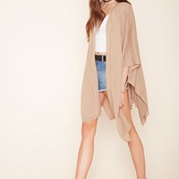 Draped Batwing Cardigan