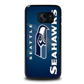 seattle seahawks samsung galaxy s7 edge case cover  number 1