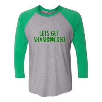 Shamrocked Shirt Lets Get Shamrocked Shirt Shamrock Shirt Drinking Tshirt Drunk 1 Drunk 2 Shirt Leprechaun Shirt St Pattys Day Shirt