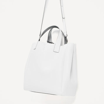 SOFT DOUBLE SIDED MINI TOTE BAG DETAILS