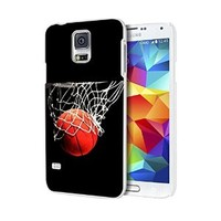 More Than Basketball Custom Case for Samsung Galaxy S3/ S4/ S5 (white samsung galaxy S5)