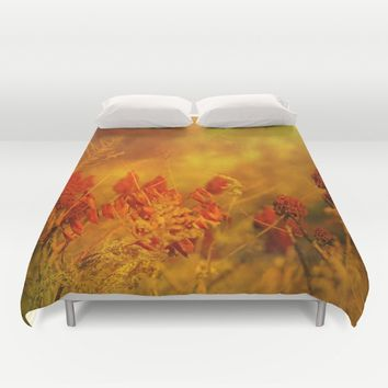 Autumn Wonder Duvet Cover by Theresa Campbell D'August Art