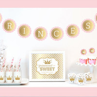 Princess Birthday Party Decoration Kit
