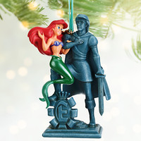 Disney Ariel and Prince Eric Sketchbook Ornament | Disney Store