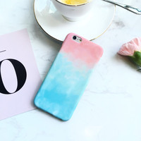 Tie-Dye Case Cover for iPhone 7 se 5s 6 6s Plus Gift + Gift Box 427