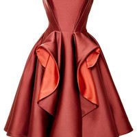 Stretch Duchess Dress by Zac Posen - Moda Operandi