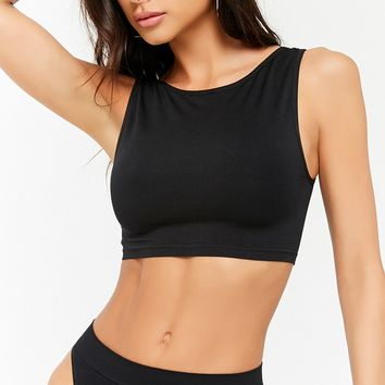 Seamless Scoop-Back Bralette