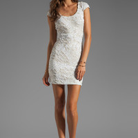 DRESS THE POPULATION Gabriella Dress in White from REVOLVEclothing.com