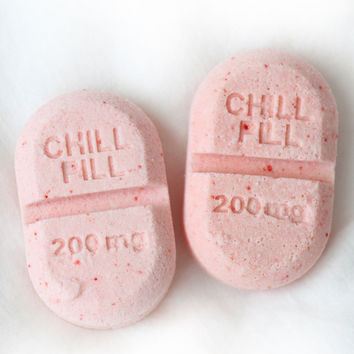 Chill Pill Bath Bombs (set of 2)