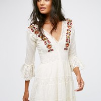 Free People FP One Antiquity Mini Dress