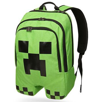 MC Game Children Cartoon Schoolbag Pupils Shoulders Bag Kids Backpack