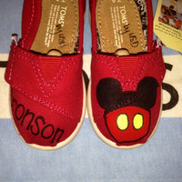 Dreams Come True {with Child's Name} Inspired Tiny Custom TOMS