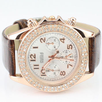 Candy Color Belt Watch for Women