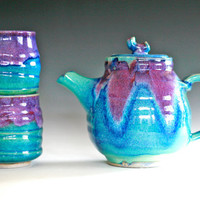 Mika, New Moon Tea Set, Ceramic Tea set, ceramics and pottery