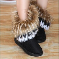 women Shoes Woman Ankle Boots for boots women Winter Shoes High Snow Boots Brown Ug Boots Australia Botas Mujer Bbota feminina