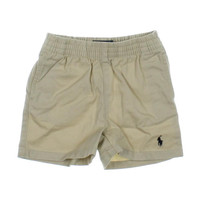 Polo Ralph Lauren Solid Infant Boys Khaki Shorts