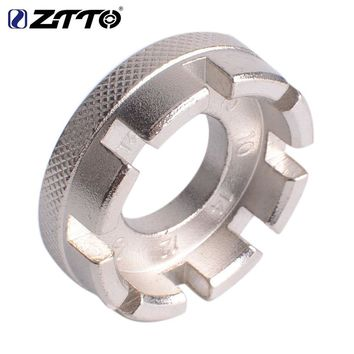 ZTTO MTB Mountain Bike Road Bicycle Tools Steel Wheel Wheels Spoke Wrench Tool 6 Sizes In One
