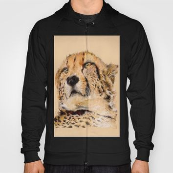 Season of the Cheetah Hoody by michael jon