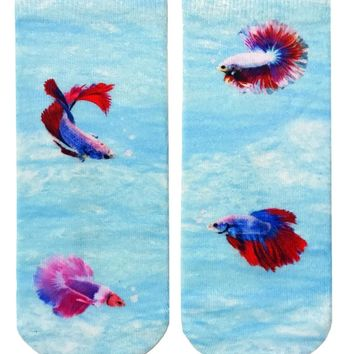 Betta Fish Ankle Socks